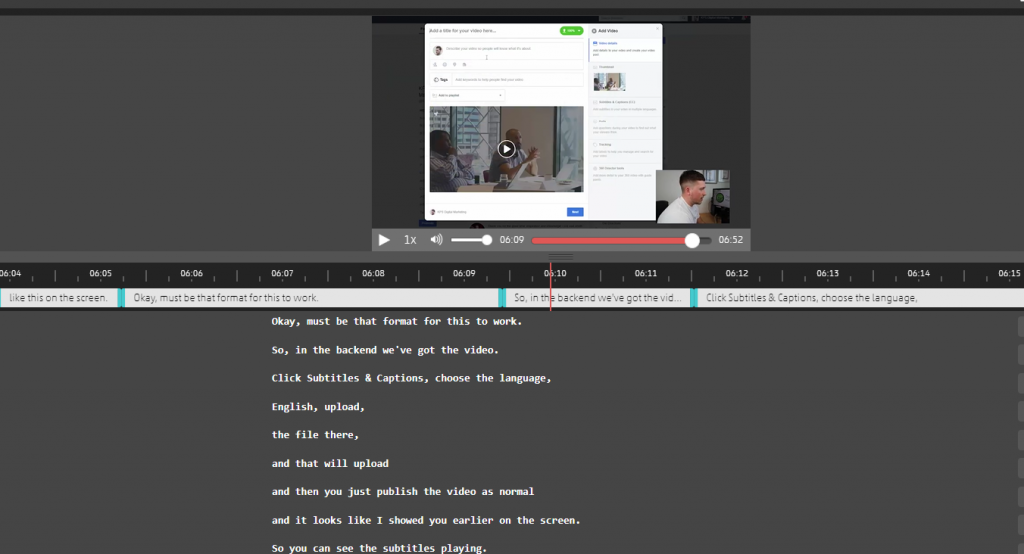 How To Add Subtitles To A Video: LinkedIn, Twitter
