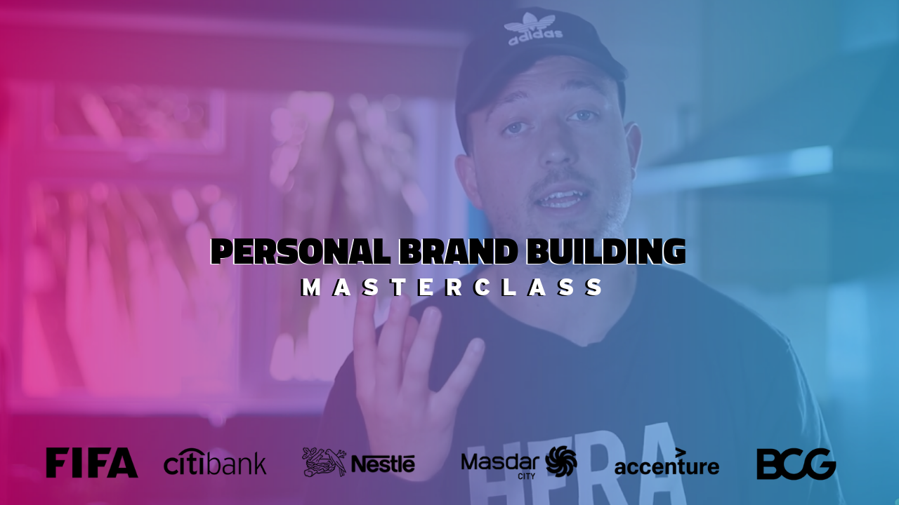 Personal brand building training in kent