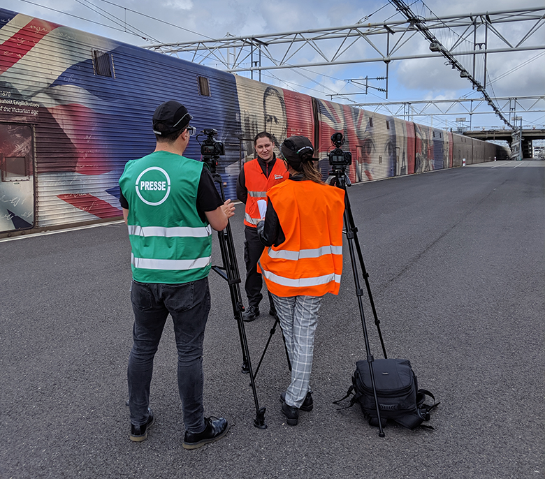 Video Production Eurotunnel UK