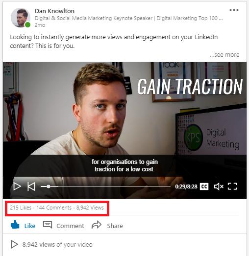 LinkedIn Content Example 2