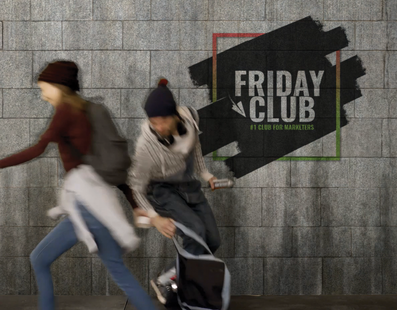 The Friday club. #1 Club for marketers